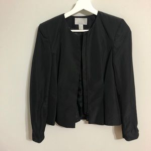 H&M fitted jacket with zipper. Can be worn as top